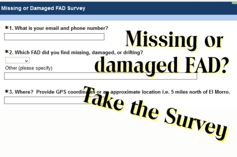 PR FAD System Damaged FAD Survey